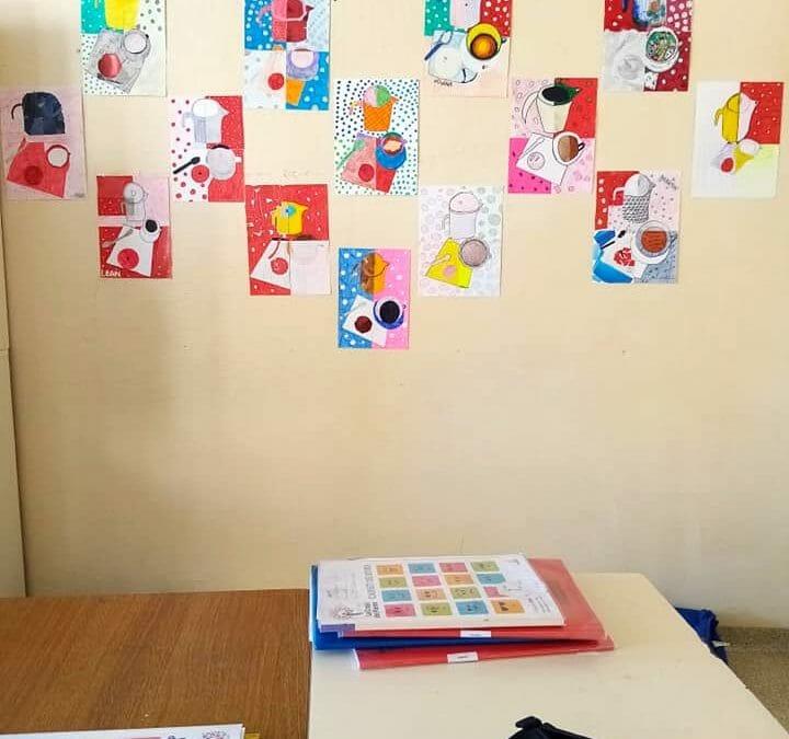 Arts plastiques : galerie d'oeuvres en 5è